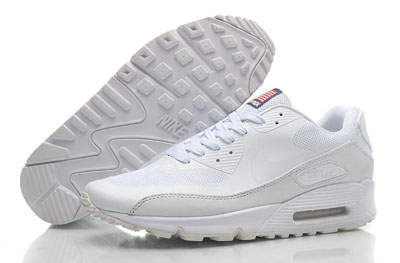 sale retailer b55b9 c3a07 Acheter Détaxe Nike Air Max 90 Femme Blanche Chaussures Vente En Ligne