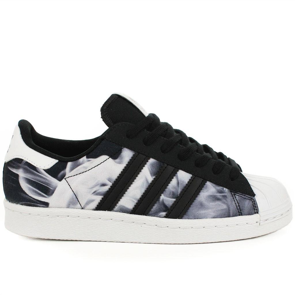 e1e0f589934a48 Chaussures Adidas Superstar Femme Noire Ju163