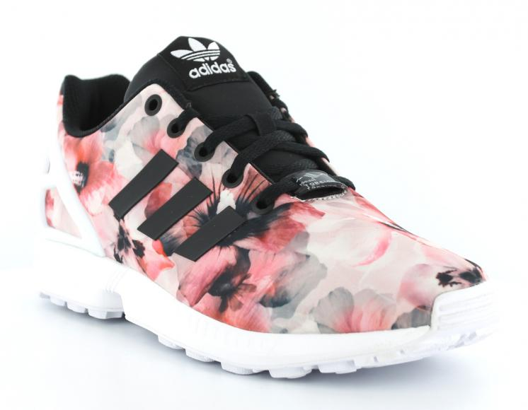 code promo 08b91 04fed discount adidas zx flux rouge roses 19e1f 35441