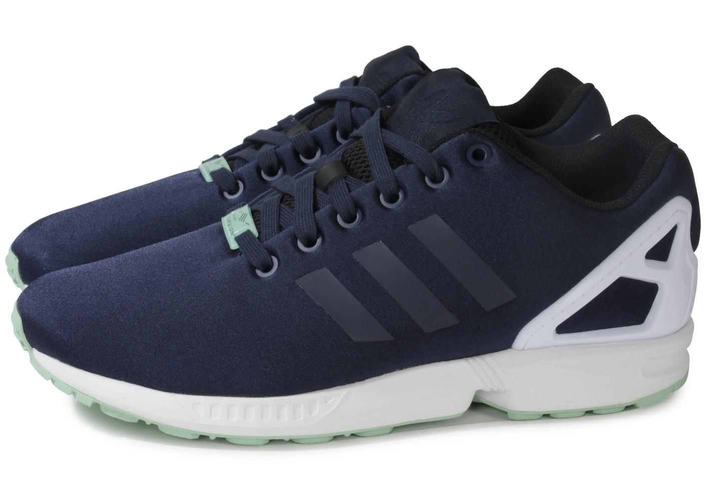 Adidas Zx Flux Homme Bleu Ju889