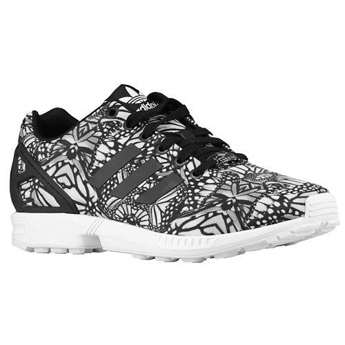adidas zx flux noir et blanc pas cher