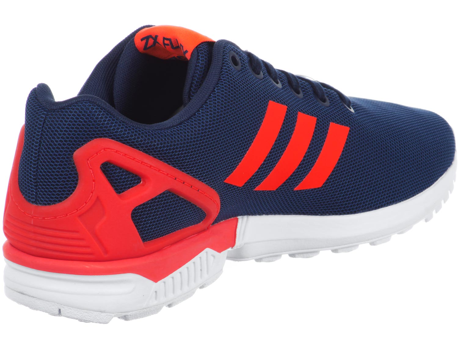 zx flux fade rouge